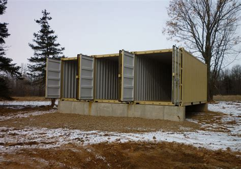 Cabins In Northern Wisconsin by Shipping Container Homes Tin Can Cabin In Northern Wisconsin