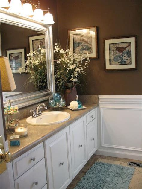 badezimmer vanity makeover ideen small budget cosmetic makeover guest bath before after