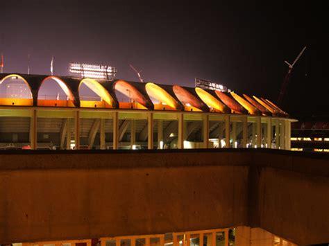 Parking Garage Near Busch Stadium by Cardinal Nation 187 Busch Stadium 9 27 05 West Parking