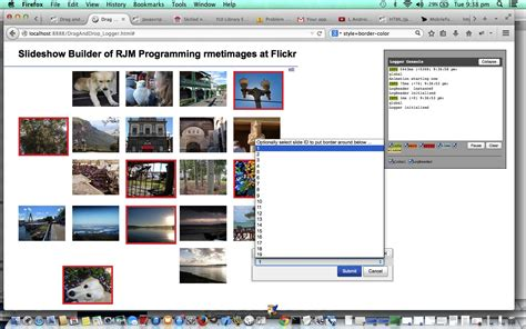 javascript yui tutorial mac sharing iphoto and flickr primer tutorial robert