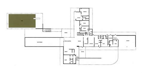 Richard Neutra House Plans The Tremaine House Located In Montecito California And Designed By Richard Neutra In 1948