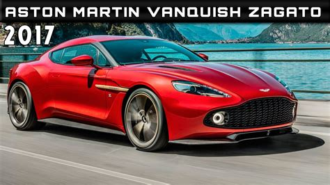 Price Of An Aston Martin Vanquish by 2017 Aston Martin Vanquish Zagato Review Rendered Price