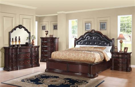 queen headboard set acme veradisia 4 piece storage bed w button tufted