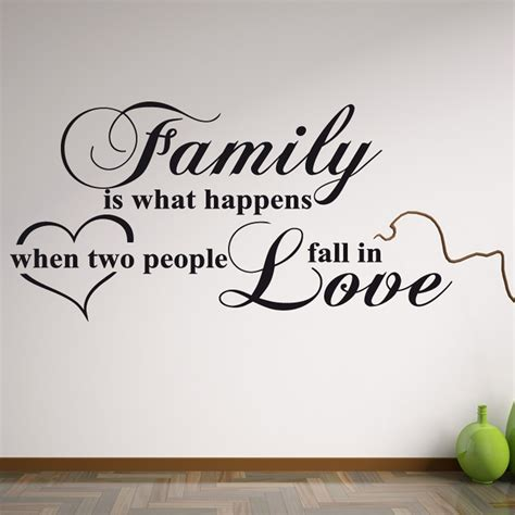 family wall stickers family wall sticker quote wall chimp uk