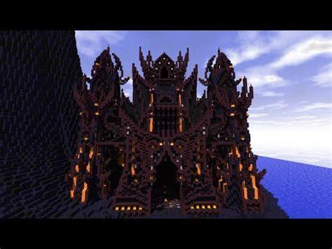 Minecraft House Design Ideas Xbox 360 Minecraft Mortrand Evil Fortress Youtube