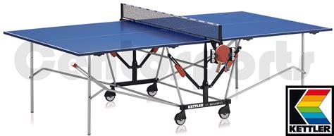 cyclette da tavolo kettler tavolo da ping pong smash 1 outdoor centosports