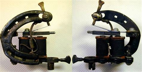 bbb brass iron copper carved tattoo machine