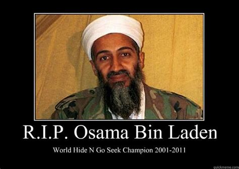 Bin Meme - rip osama bin laden world hide n go seek chion 20012