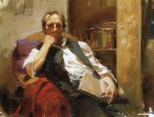 Home Interior Wholesalers Pino Daeni The Professor Painting Reproduction On Artclon