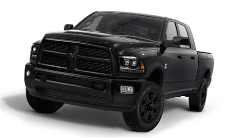 ram trucks introducing the ram heavy duty black ramzone