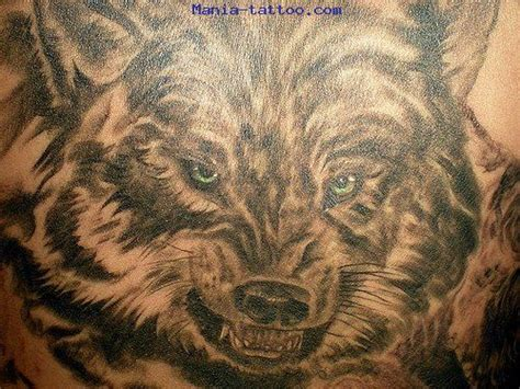 photos tatouages pictures tattoos animaux tattoo loup wolf