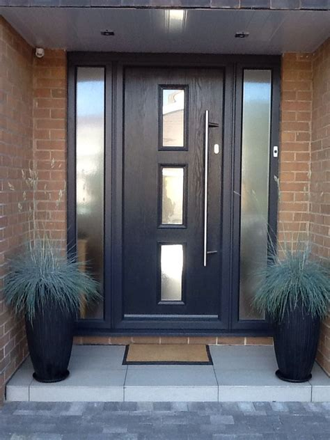front door with window 25 best ideas about grey front doors on gray