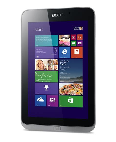 Tablet Windows 8 1 acer iconia w4 windows 8 1 tablet unveiled