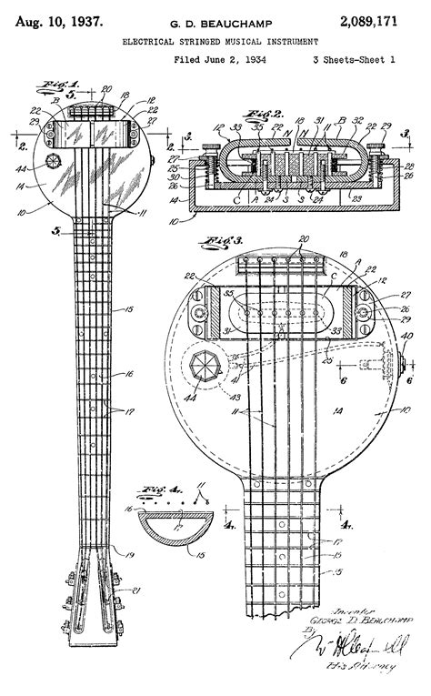 "Behold the First Electric Guitar: The 1931 ""Frying Pan"