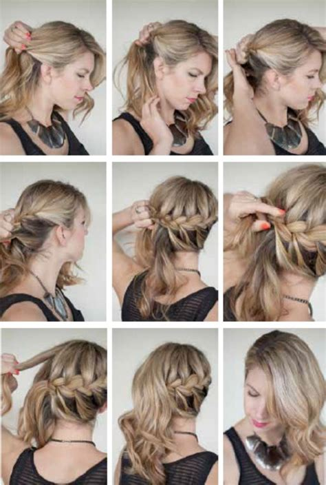 hairstyles for going out to a party such a cute hairstyle to go out on a date or a party try