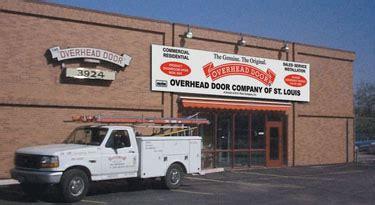 Overhead Door St Louis Mo About Overhead Door Company Of St Louis Missouri
