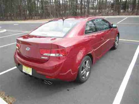Kia Forte 2 Door Coupe Buy Used 2010 Kia Forte Ex Coupe 2 Door 2 0l In Brick New