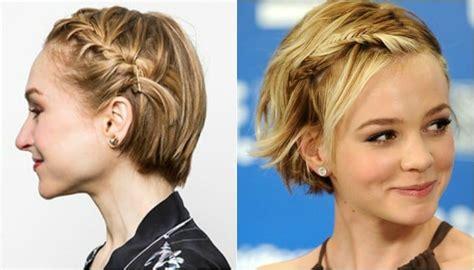 imagenes de trenzas muy bonitas peinados con trenzas para cabello corto para que luzcas