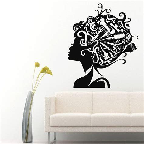 wall decor stickers shopping wall sticker unisex hair scissors salon hairdresser
