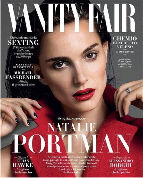 natalie portman vanity fair magazine cover italy