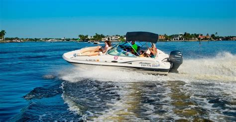 deck boat rentals naples fl extreme boat rentals tours info must do visitor guides