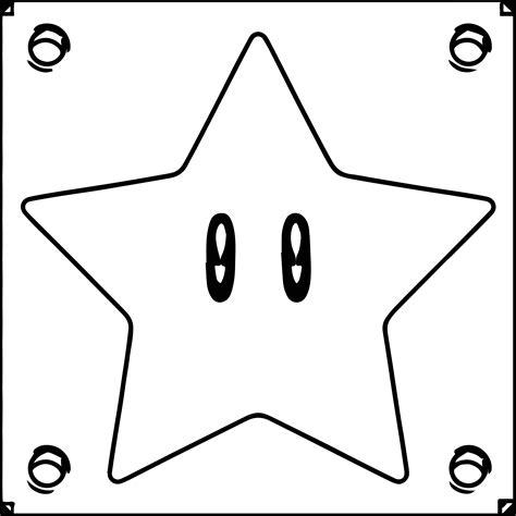 mario star coloring pages super mario star box coloring page wecoloringpage