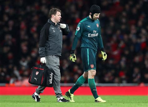 arsenal injury news arsenal injury news cech doubtful for north london derby