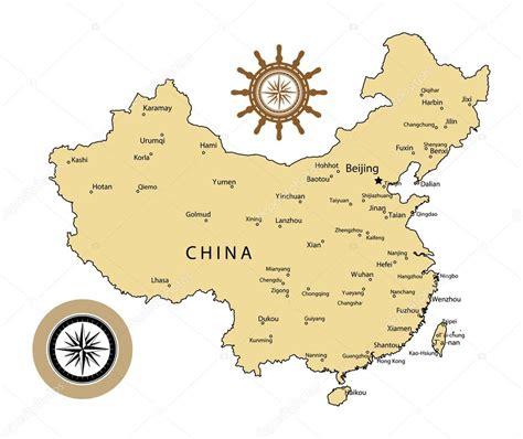 china map vector china map stock vector 169 fla 13490057