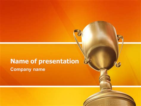 award powerpoint template award presentation template for powerpoint and keynote