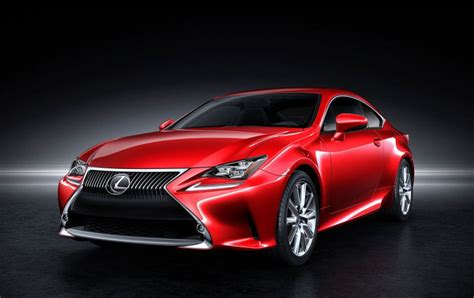 lexus rc sedan lexus rc coupe born from the is sedan drive safe and fast