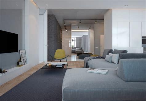 Condo Wohnzimmer Ideen by Raumgestaltung Ideen In Grau 5 Moderne Appartements