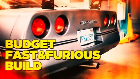 fast and furious budget budget fast furious 8 build vidshaker