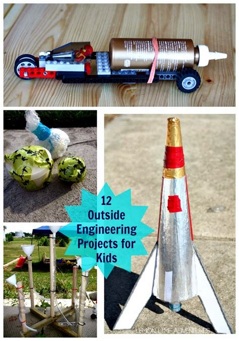 diy engineering projects 12 outside engineering projects for planet smarty