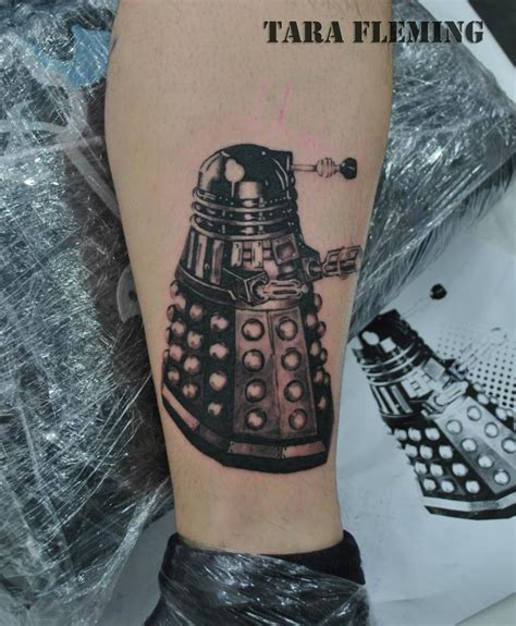 dalek tattoo by tarafleming on deviantart