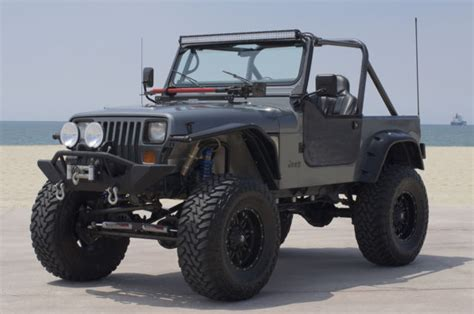 jeep wrangler yj custom no reserve