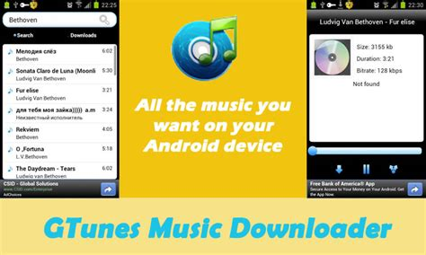gtunes app for android top 40 free mp3 apps for android free downloads