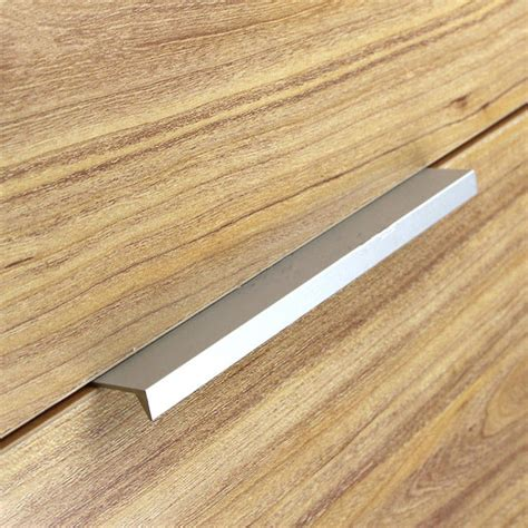Kitchen Cabinet Drawer Pulls Aliexpress Com Buy 10pcs Modern Simple Cabinet Door Edge