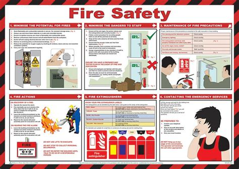 printable safety poster free fire safety printables october pinterest
