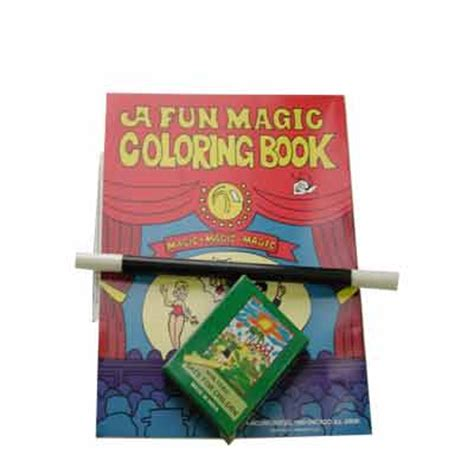 magic coloring book buy magic tricks coloring book kit crayon wand book by