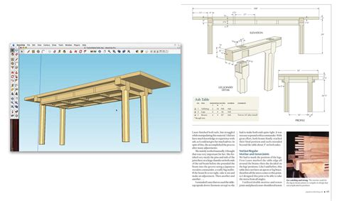 free sketchup woodworking plans wooden sketchup woodworking pdf plans