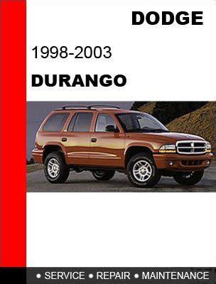 dodge durango 1998 2003 workshop service repair manual upcomingcarshq com 1998 1999 2000 2001 2002 2003 dodge durango service repair