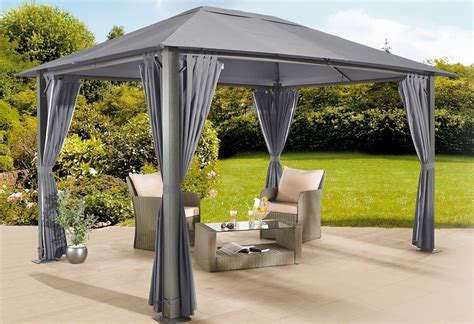Pavillon 3x4 Grau by Alu Pavillon 3 215 4 Bestseller Shop