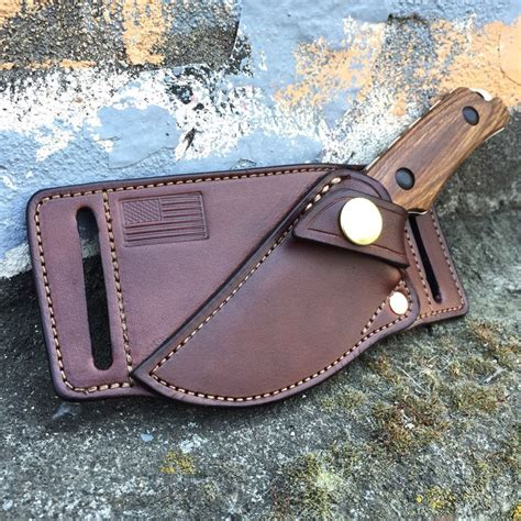 Handmade Knife Sheath - 25 best ideas about knife sheath on browning