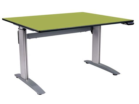 Electronic Height Adjustable Desk by 8001 Electronic Height Adjustable Desks 1200mm X 750mm