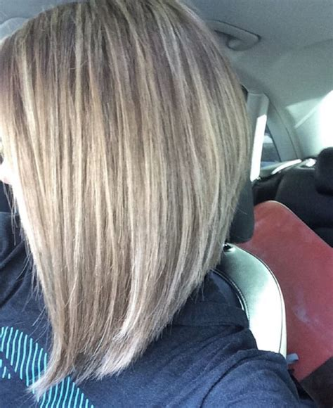 ponytail with an a line cut how to cut an a line bob with a ponytail best 10 long a