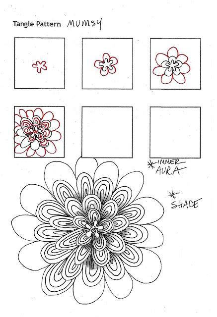 zentangle pattern zinger 72 best images about blumen tangle on pinterest fancy