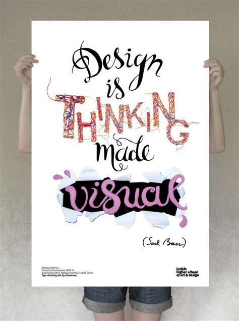 design is thinking made visual saul bass typography design is thinking made visual by saul bass