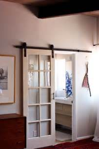 hanging doors on tracks 1000 ideas about track door on pinterest this old house