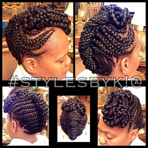 cornrow french roll hairstyles 175 best stylesbyk images on pinterest natural hair