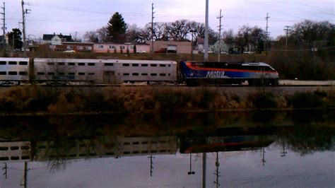 elgin boat casino metra out of elgin from grand victoria casino deck youtube
